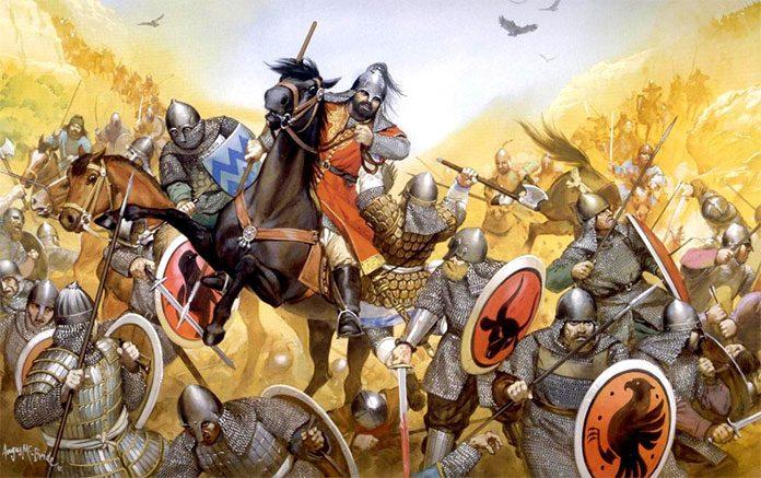Türkler ile Bizanslılar arasında yapılan ilk savaş Pasinler Savaşı'dır
