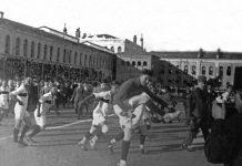 Türkiye A Milli Futbol Takımı İlk Milli Maçını Romanya ile oynadı.